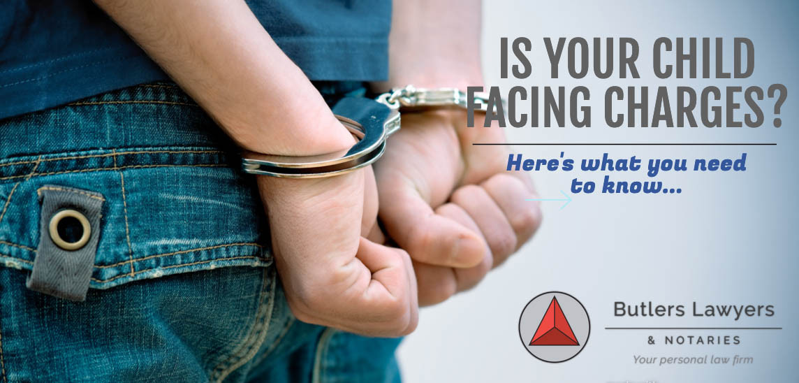 Is your child facing charges?  Here's what you need to know...